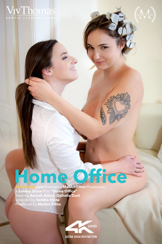 Ophelia Dust And Amirah Adara Home Office