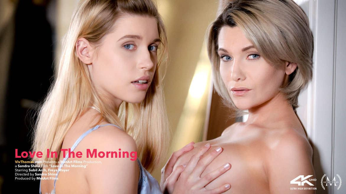 Freya Mayer And Subil Arch Love In The Morning