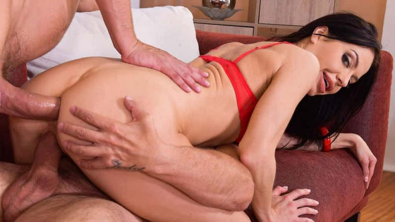 HandsOnHardcore Allatra Hot Horny MILF Requires Two Men For Satisfaction